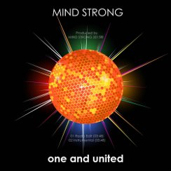 Cover of MIND STRONGs single release ONE AND UNITED
